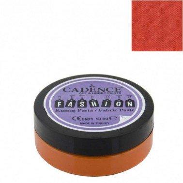 Pasta Textil FASHION - Naranja CADENCE 50 ml.