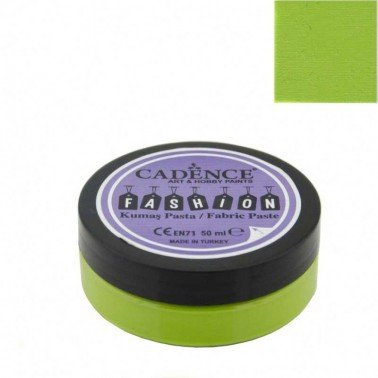 Pasta Textil FASHION - Verde Pistacho CADENCE 50 ml.