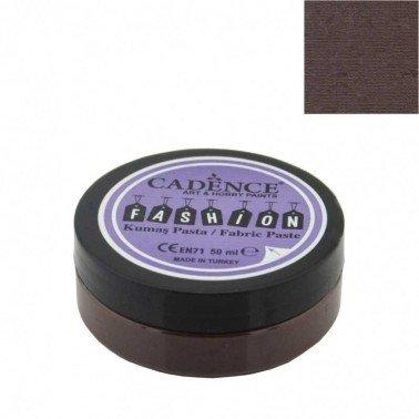 Pasta Textil FASHION - Marrón CADENCE 50 ml.
