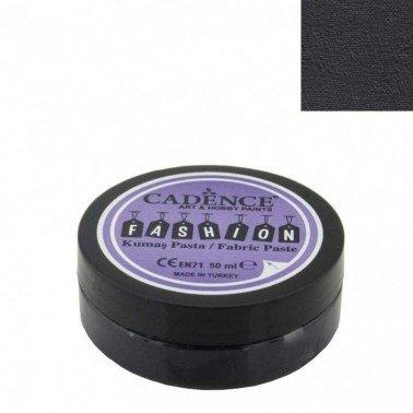 Pasta Textil FASHION - Negro CADENCE 50 ml.
