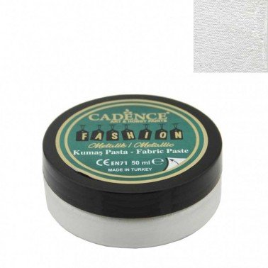 Pasta Textil FASHION METALLIC - Perla CADENCE 50 ml.