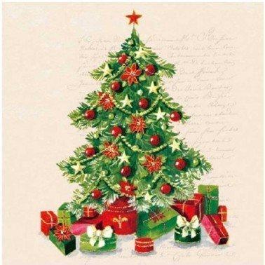 Servilletas para decoupage Christmas Tree 33 X 33 cm.