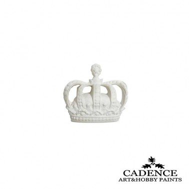 Corona Pequeña de Resina CADENCE 5.6 x 5 cm.