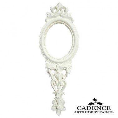 Espejo de Mano de Resina CADENCE 40 x 14.5 cm.