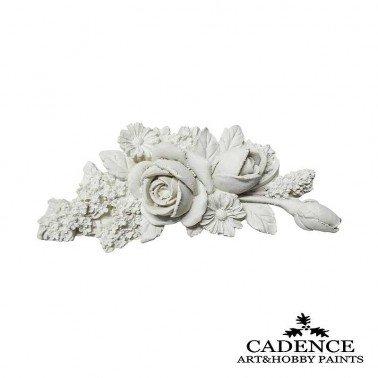 Ramito Rosas de Resina CADENCE 12.3 x 5.5 cm.