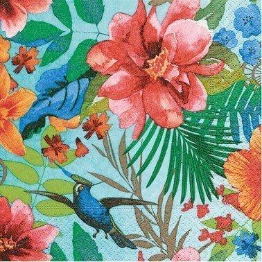 Servilletas para decoupage Tropical paradise 33 X 33 cm.