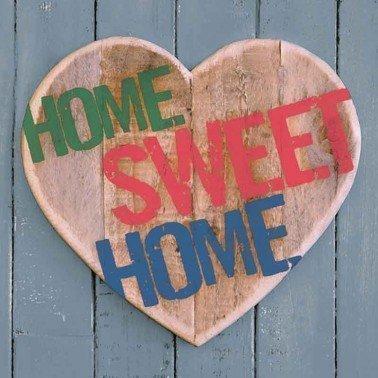 Servilletas para decoupage Home Sweet Home 33 X 33 cm.