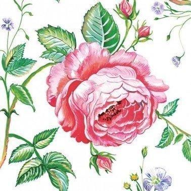 Servilletas para decoupage English Rose 33 X 33 cm.