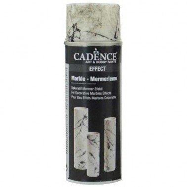 Pintura PLATA Spray Marmol CADENCE 200 ml.