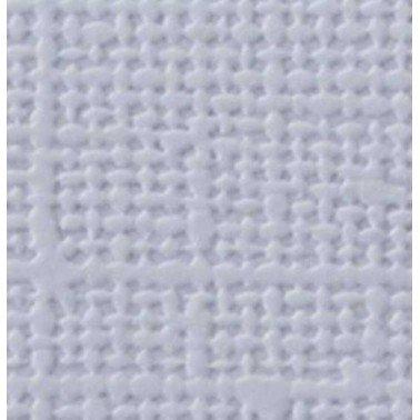 "Cartulina textura lienzo AZUL HIELO 12x12"" 216 gr."