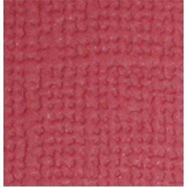 "Cartulina textura lienzo CARMÍN 12x12"" 216 gr."