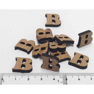 Mini letra B, 1.5 cm DM