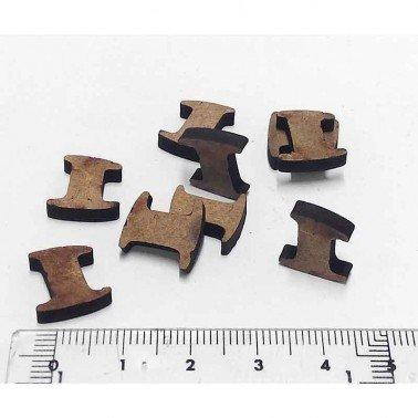 Mini Número 1, 1.5 cm DM