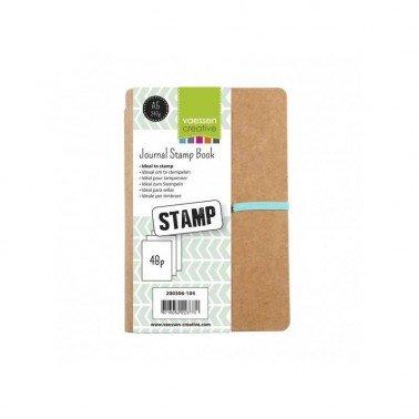Cuaderno Journal Stamp Book A5