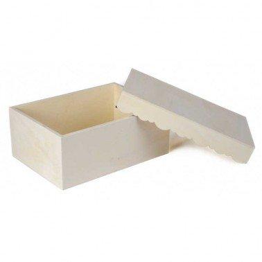 Caja de madera con Onditas 29.5x21.5x12 cm
