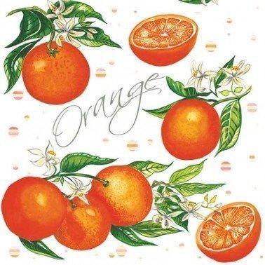 Servilletas para decoupage Juicy Orange 33 X 33 cm.