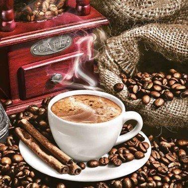 Servilletas para decoupage Aromatic Coffee 33 X 33 cm.