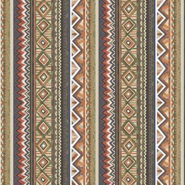 Servilletas para decoupage Ethnic Graphics in Stripes 33 X 33 cm.