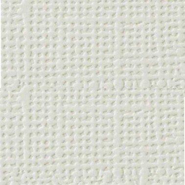 """Cartulina textura lienzo BLANCO ROTO 12x12"""" 216 gr."""