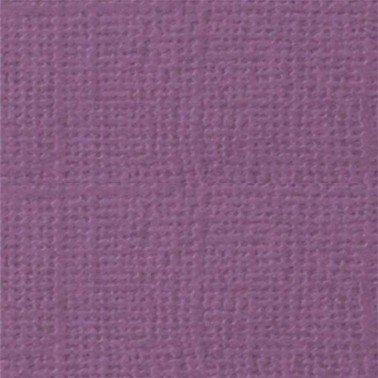 """Cartulina textura lienzo BERENJENA 12x12"""" 216 gr."""