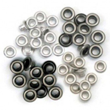Standard Eyelets/ Ojales aluminio WR, COOPER COOL 5 mm.