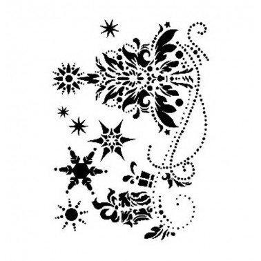 Stencil NAVIDAD CADENCE 21 x 30 cm.
