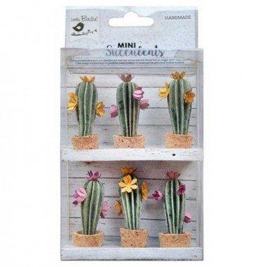 Flores de papel Mini Suculents - DESERT FLORA.