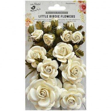 Flores de papel Boutique elements - ROSALIND MOON LIGHT.