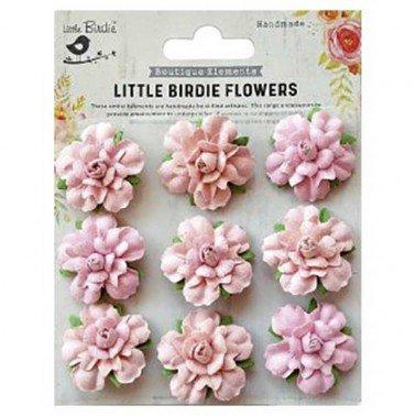 Flores de papel Boutique elements - VINCY PEARL PINK.