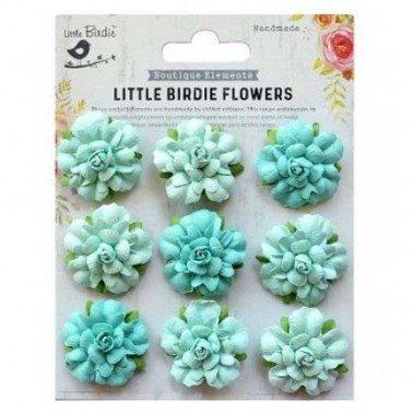 Flores de papel Boutique elements - VINCY ARTIC ICE.