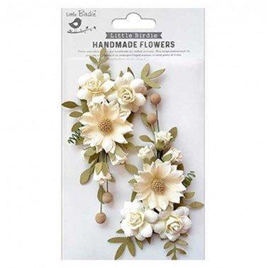Flores de papel Boutique elements - FAIRY ROSA AMOR MIO.