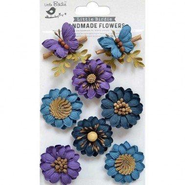 Flores de papel Handmade Flowers - ARCADIA PURPLE PASSION.