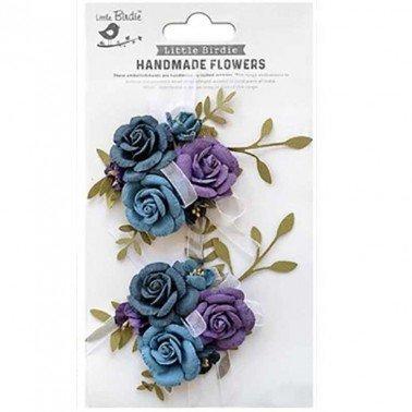 Flores de papel Handmade Flowers - ARION PURPLE PASSION.