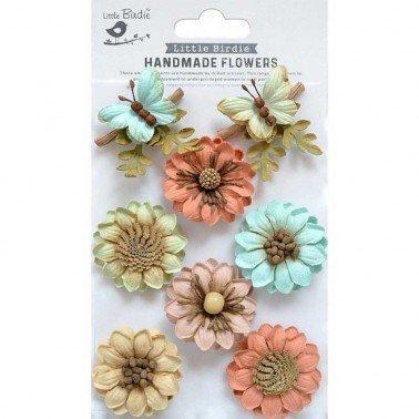Flores de papel Handmade Flowers - ARCADIA WOODLAND STORIES.