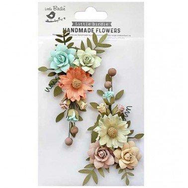 Flores de papel Handmade Flowers - FAIRY ROSA WOODLAND STORIES.