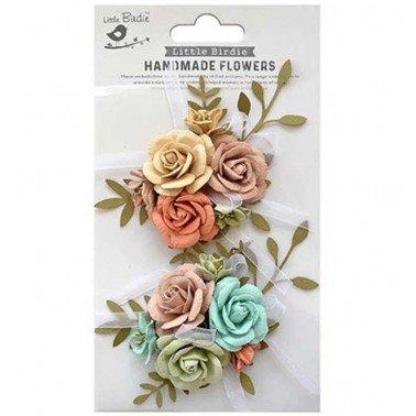 Flores de papel Handmade Flowers - ARION WOODLAND STORIES.
