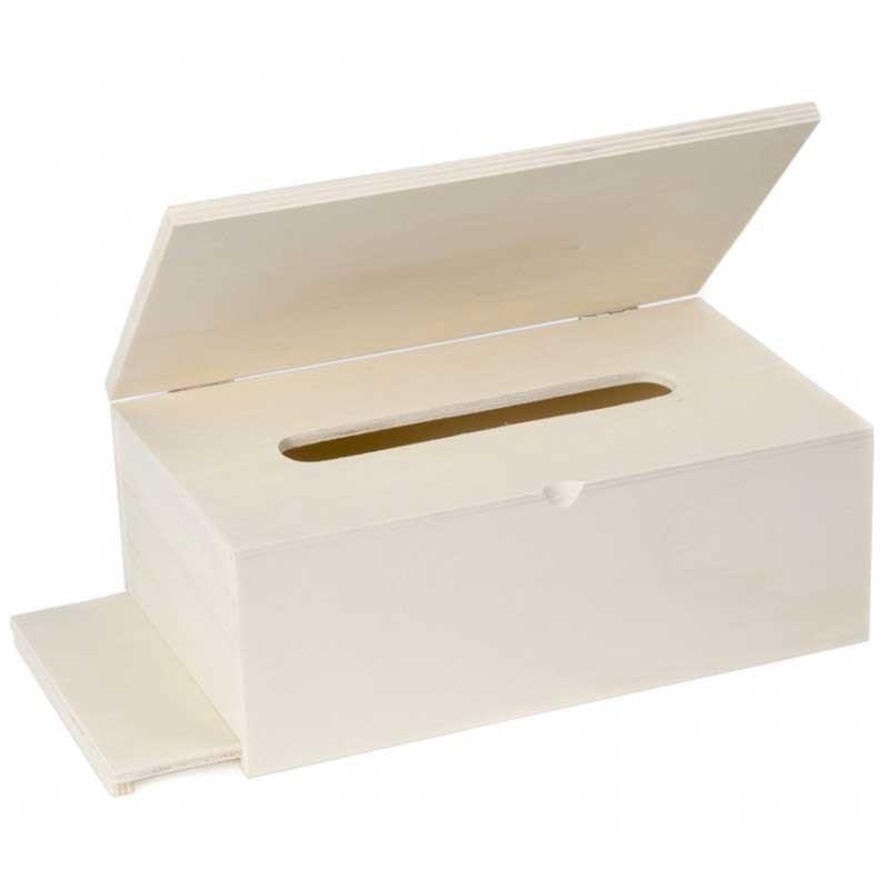 14/x 10/x 10/cm Home Cesta con Forma de Caja de Madera Madera