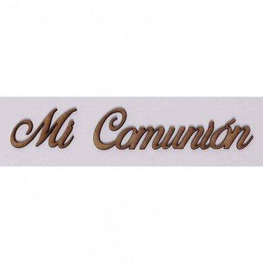 Silueta DM PALABRAS/FRASES 3CM ''MI COMUNION''