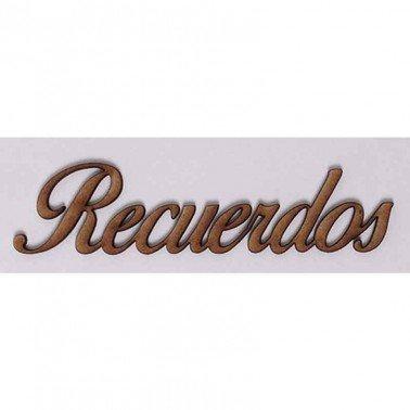 Silueta DM PALABRAS/FRASES 3CM ''RECUERDOS''