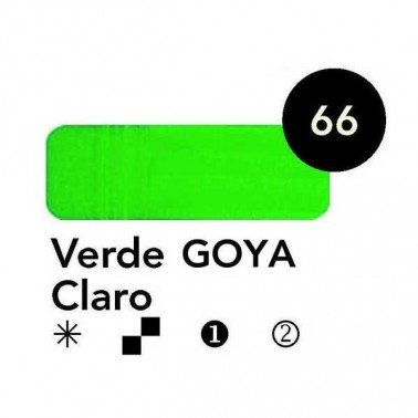 Titán Goya Verde Goya Claro nº 66, 20 cc.