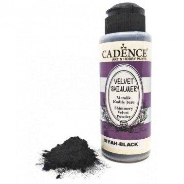 Velvet Shimmer Powder NEGRO Cadence 120 ml.