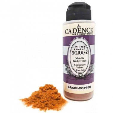 Velvet Shimmer Powder COBRE Cadence 120 ml.