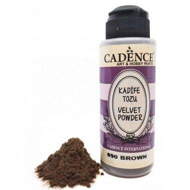 Velvet Powder MARRÓN Cadence 120 ml.