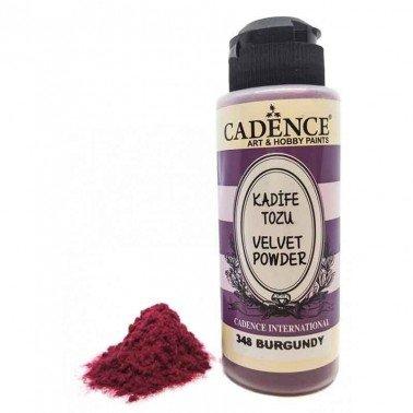 Velvet Powder BURGUNDY Cadence 120 ml.