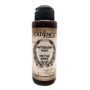 Antiquing Paint MARRÓN OSCURO Cadence 120ml.