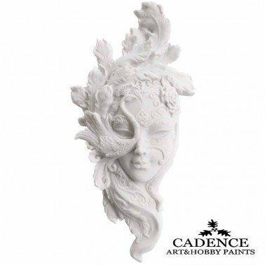 Máscara Veneciana Pavo CADENCE 32x16cm.