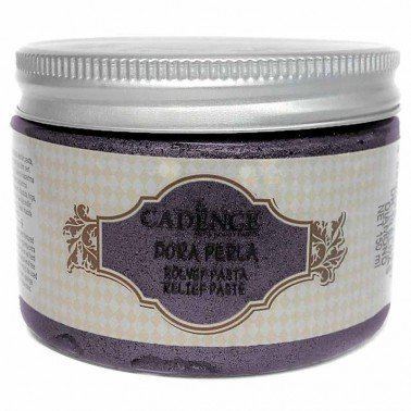 Pasta de relieve Orquidea oscuro, 150 ml.