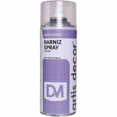 Barniz Spray satinado Artis Decor, 400 ml.