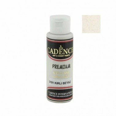 Pintura Acrilica Premium DIRTY WHITE Cadence 70ml