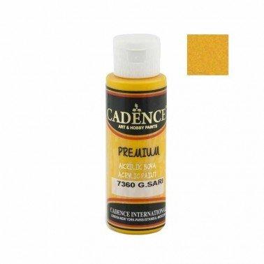 Pintura Acrilica Premium SUN YELLOW Cadence 70ml
